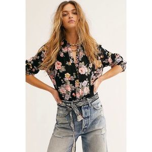 Free people hold on to me blouse